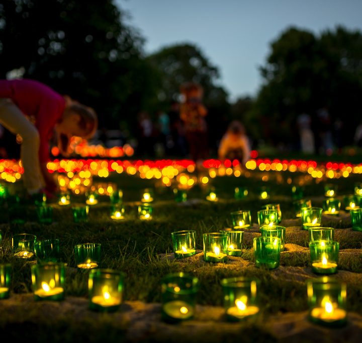 Lichterfest im Westfalenpark