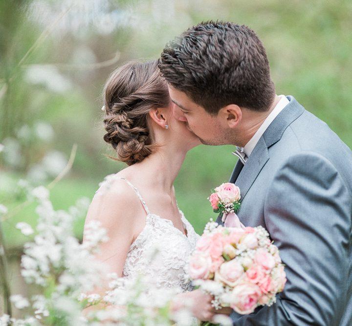 Romantik pur auf der Hochzeit von Leah und Marcel