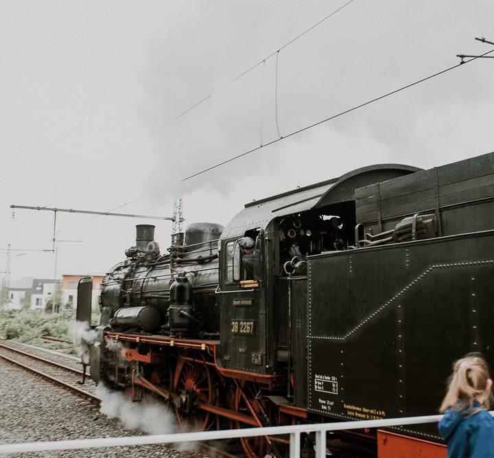 Ruhrtalbahn / Dampfzug