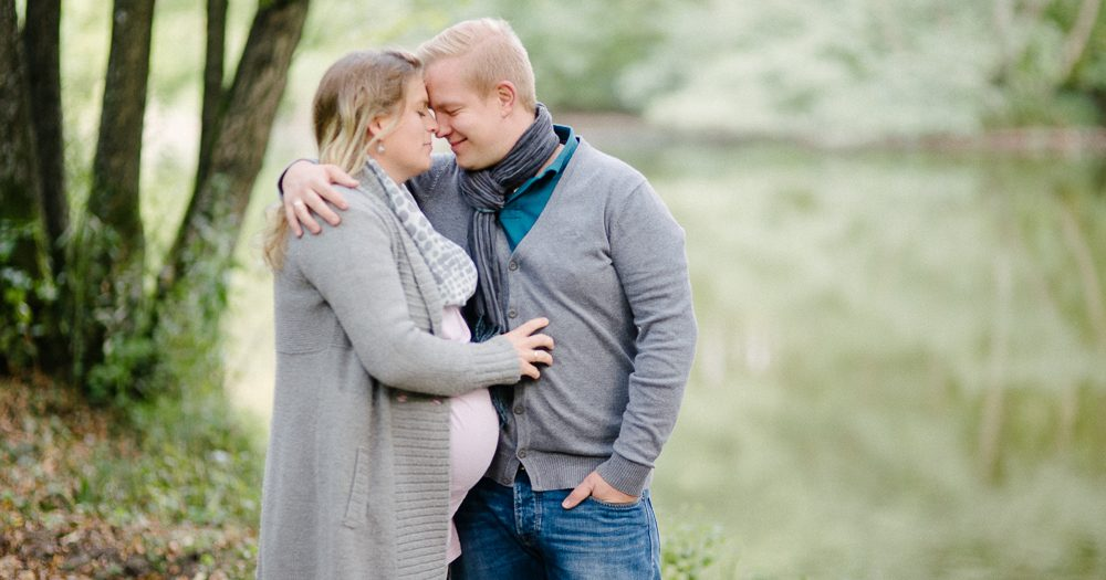 Babybauchshooting mit Pia und Nils