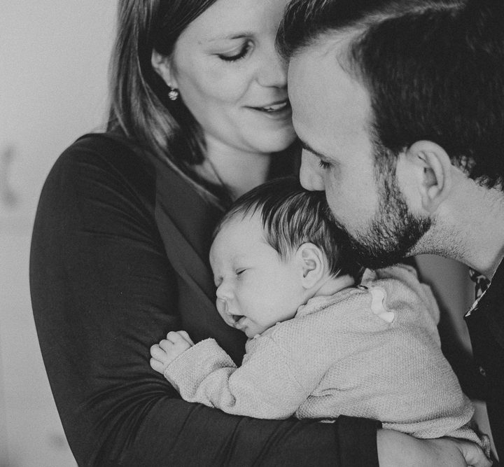 Familienfotos mit Baby Hanna